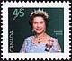 Canada, 45¢ [Elizabeth II], 31 July 1995