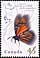 Canada, 45¢ Monarch butterfly, 15 August 1995