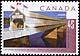 Canada, 45¢ Covered wooden bridge, 1 September 1995