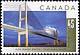 Canada, 45¢ Alex Fraser Bridge, 1 September 1995