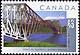 Canada, 45¢ Québec Bridge, 1 September 1995