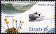 Canada, 45¢ [Arctic poppy, cargo canoe], 15 September 1995