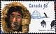 Canada, 45¢ [Inuk man, igloo, sled dogs], 15 September 1995