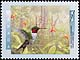 Canada, 45¢ Ruby-throated hummingbird, 9 January 1996