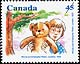 Canada, 45¢ Winnie and Christopher Robin, 1 October 1996