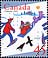 Canada, 45¢ [Delivering gifts by sled], 1 November 1996