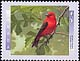 Canada, 45¢ Scarlet tanager, 10 January 1997