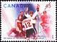 Canada, 45¢ [Paul Henderson célébrant son but gagnant], 20 septembre 1997