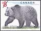 Canada, $8 Grizzly bear, 15 October 1997