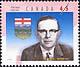 Canada, 45¢ Ernest C. Manning, 18 February 1998