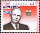 Canada, 45¢ John Bracken, 18 February 1998