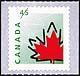 Canada, 45¢ [Stylized Maple Leaf], 30 September 1998