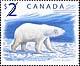 Canada, $2.00 Polar Bear, 27 October 1998
