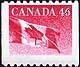 Canada, 46¢ [Flag], 28 December 1998