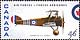 Canada, 46¢ Sopwith F.1 Camel, 4 September 1999