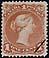 Canada, 1¢ [Victoria], 1 April 1868