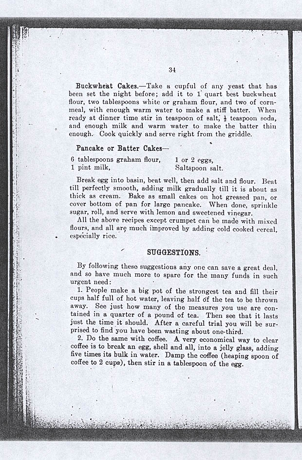 Library and Archives Canada - Win the War Recipes and Suggestions, Canada, 1916, 27 pp.