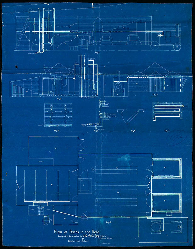 Blueprint for the baths