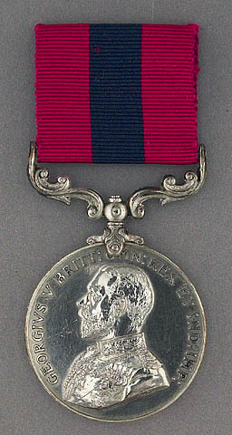 A distinguished conduct medal.
