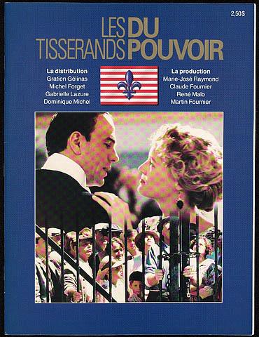 Les tisserands du pouvoir 1988 VFQ