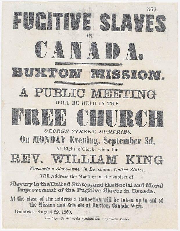 Fugitive Slaves in Canada, Buxton Mission