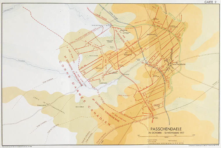 Passchendaele, 26 octobre - 10 novembre 1917