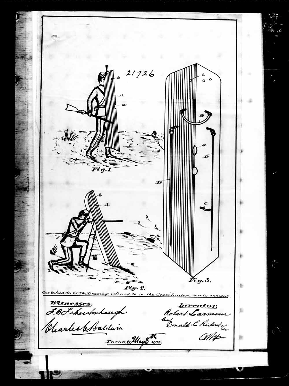 PORTABLE SHIELD FOR SKIRMISHERS, p. 5