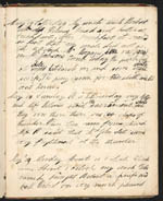 Page from Eleanora's diary, in which she practises her writing, 1834