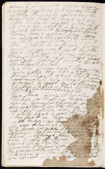 Page du journal d'Eleanora, 1846