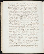 Page from diary of George Hallen, Eleanora's father, in which he describes the death of his daughter Edith, 1835 (volume 2, file 3)