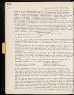 Page 246 of Granite Curling Club Minutebook, containing a motion to amalgamate (1931-1949)