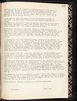 Page 247 of Granite Curling Club Minutebook, containing a motion to amalgamate (1931-1949)