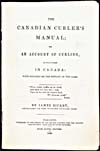 Page tir&#233;e du livre THE CANADIAN CURLER'S MANUAL, de James Bicket, 1840