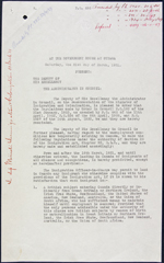 Order-in-council, P.C. 695, March 21, 1931