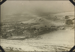 Photograph of Le Tr�port, France in snow and fog, January 1917