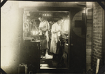 Photograph of two staff in medical equipment room, No. 2 Canadian General Hospital, Le Tr�port, France, 1917