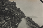 Photograph of a pathway on a cliff, Lynton, England, unknown date