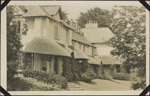 Photograph of an exterior view of a hotel, Lynton, England, unknown date