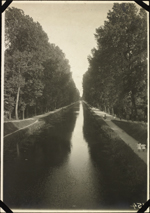 Photograph of the canal, Troyes, France, unknown date