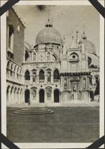 Photograph of St. Mark's Square, Venice, Italy, March 24-26, 1919