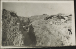 Photograph of a trench, Verdun, France, August 1916