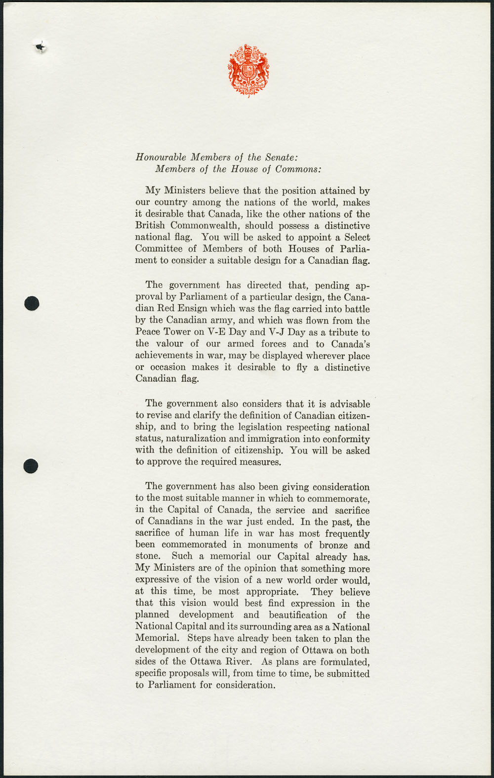 ARCHIVED - Governor General - Canadian Documents Gallery - The ...