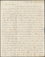 Letter from James R. Westcott to Mary Westcott, Saratoga Springs. May 25, 1845. Page 1