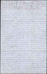 Letter from Mary Westcott to Louis-Joseph-Amédée Papineau, New York. May 28, 1845. Page 1