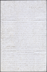 Letter from Mary Westcott to Louis-Joseph-Amédée Papineau, New York. June 22, 1845. Page 1