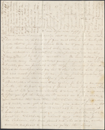 Letter from Mary Westcott [Papineau] to James R. Westcott [and M.A. Westcott], Montreal. Thursday, June 4, 1846. Page 1