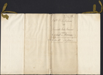 Louis-Joseph Papineau and Julie Bruneau - Marriage Contract, April 26, 1818. Page 1