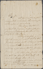 Letter from Wilfrid Laurier to Zoé Lafontaine. Undated. One page