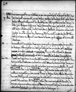 Journal entry by Am&#233;d&#233;e Papineau mentioning Mary Westcott. Saturday, May 23, 1840. Microfilm volume 33, p.&nbsp;24