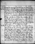 Journal entry by Amédée Papineau mentioning Mary Westcott's family. Sunday, May 4, 1845. Microfilm volume 35, p. 4